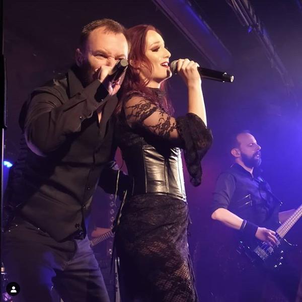 Penumbra Jarlaath and Valerie singing in concert