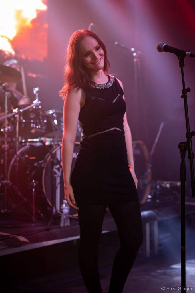 Valerie Penumbra on stage